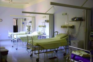 Intensywna terapia sala szpitalna
